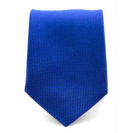Stropdas blauw zuiver zijde