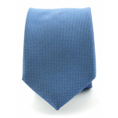 Zuiver zijde stropdas denim