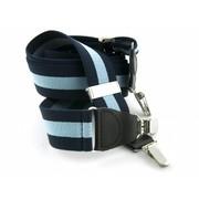 Bretels Marineblauw/lichtblauw