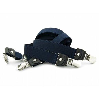 Bretels marineblauw 25mm