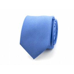 Stropdas midden blauw