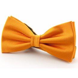 Strik oranje 100%zijde