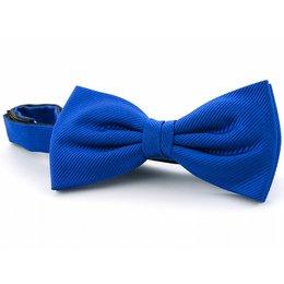 Strik kobaltblauw 100% zijde