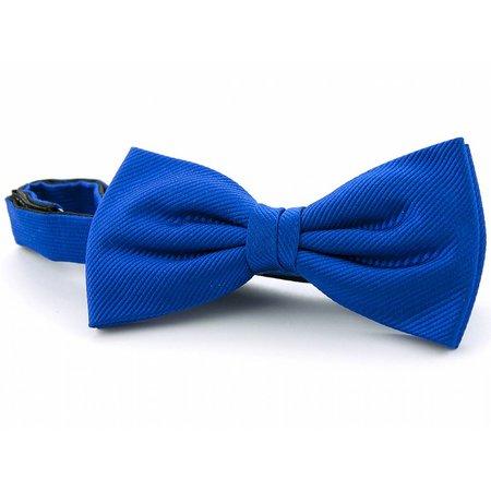 Strik kobaltblauw zijde