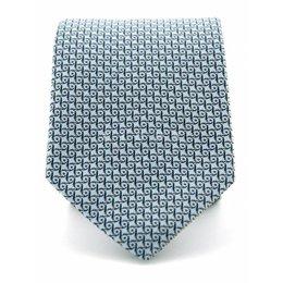 Stropdas Progetto lichtblauw 100% zijde