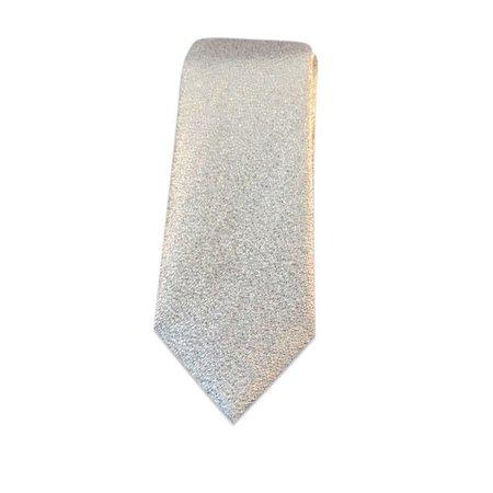 Smalle stropdas zilver