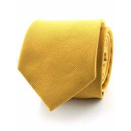 Zijde stropdas goud/geel