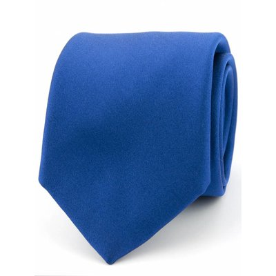 Stropdas Progetto Kobalt blauw