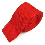 Gebreide stropdas rood