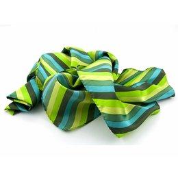 Shawl multicolour groen