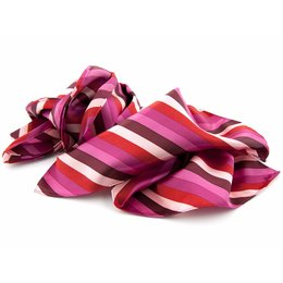 Shawl multicolour Roze