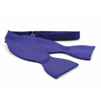 Vlinderdas Paars 100% zijde
