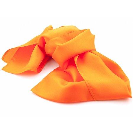Shawl Oranje 100% Zijde