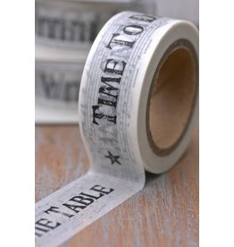 East of India Masking Tape Time To ... news paper