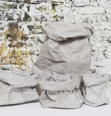 Uashmama Paper Bags Small grijs