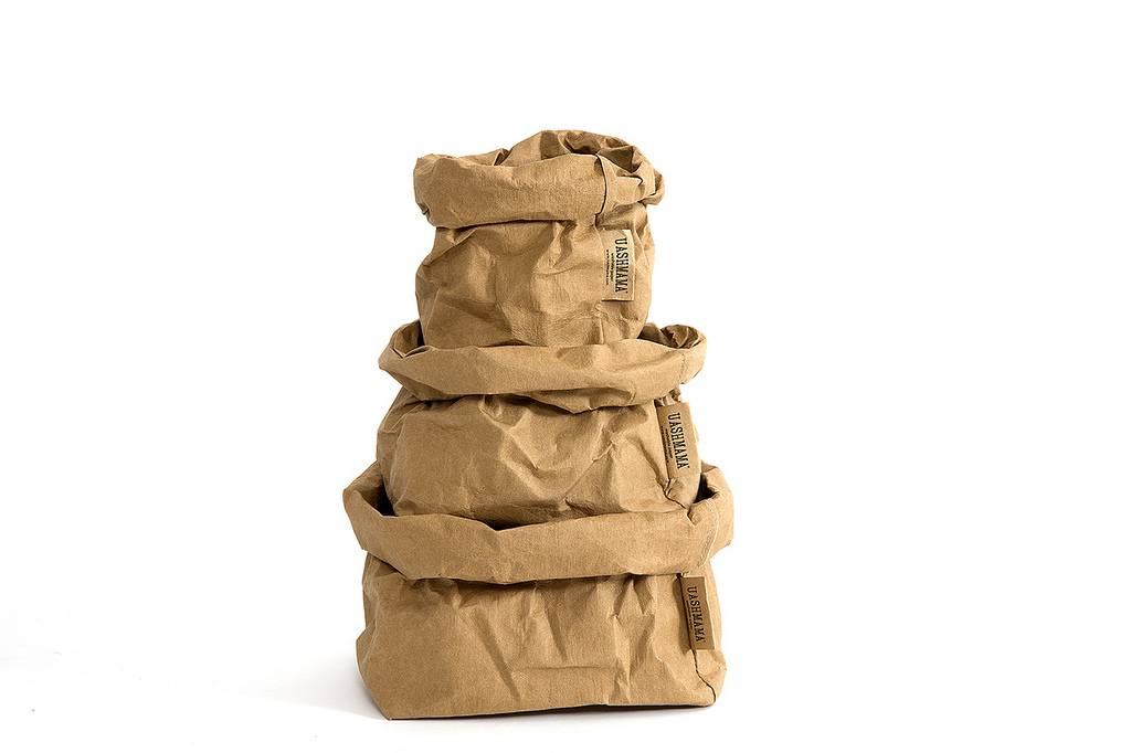 Uashmama Paper Bags Medium bruin