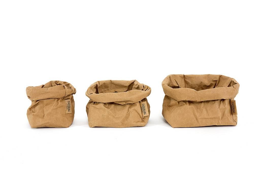 Uashmama Paper Bags Large bruin