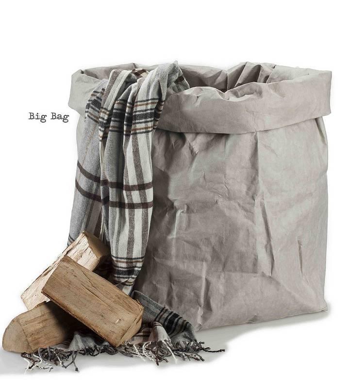 Uashmama Paper Big Bag grijs