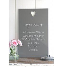 Tekstbord Appeltaart
