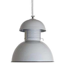 HK Living Industriële warehouse lamp M grijs