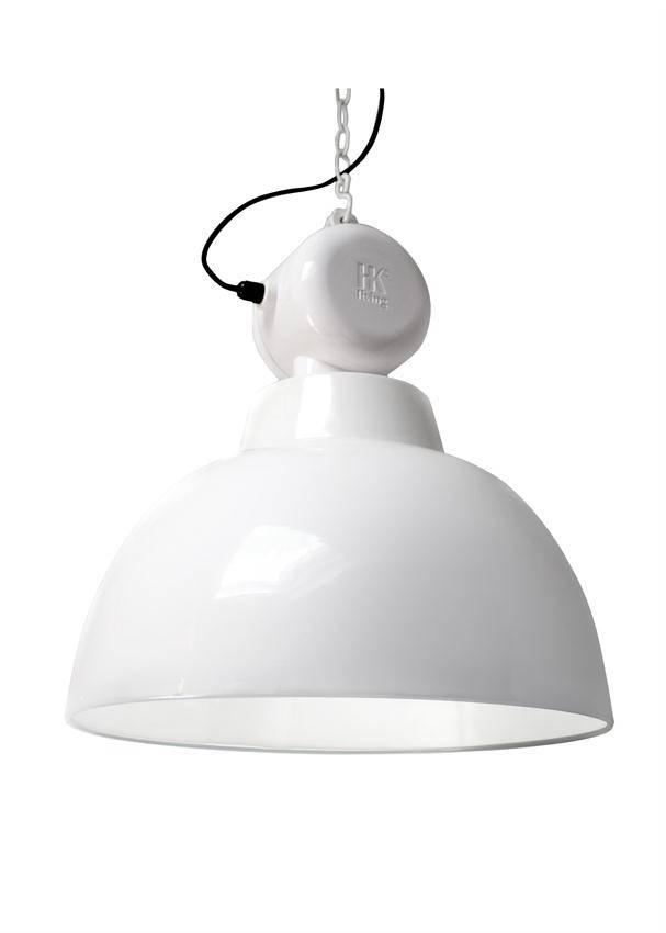 HK Living Industrielamp factory L wit