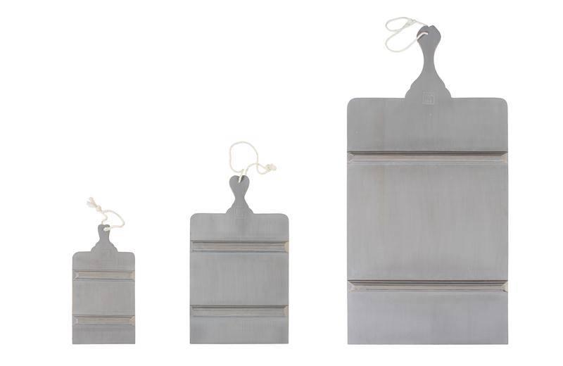 HK Living Broodplank rechthoek grijs - Medium
