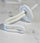 Harveys Draadhaakje wit, 4,0cm
