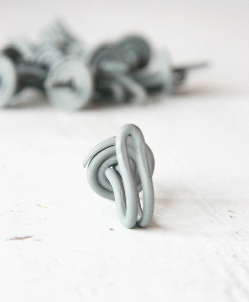 Harveys Draadhaakje grijs, 4,0cm
