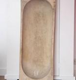 Oude Trog XL 110x38x16cm, naturel