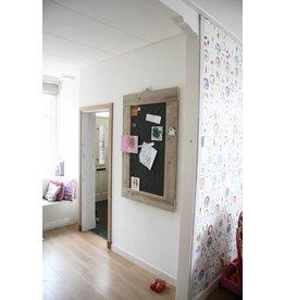 Prikbord steigerhout groot (L) canvas