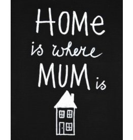Kiz Canvas Schilderij canvas - Home is where Mum is