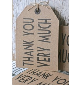 East of India Post kaart - Thank you very much -
