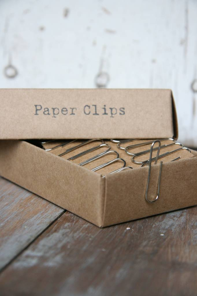 East of India Paperclips in een doosje, 88stuks