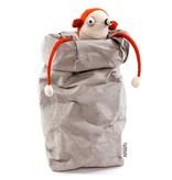 Uashmama Paper Bags Extra Large grijs