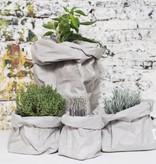Uashmama Paper Bag Extra Large grijs