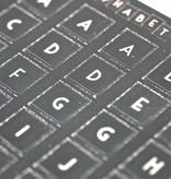 East of India stickervel alphabet A t/m Z