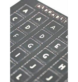 East of India Stickervel alphabet
