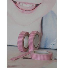 Fabrick tape roze