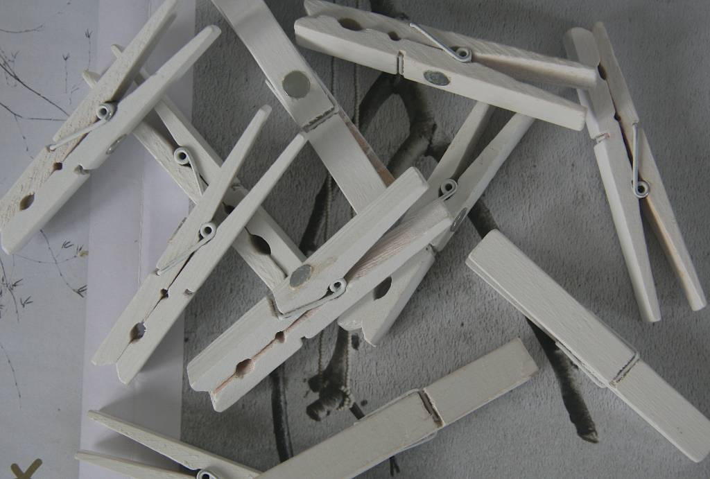 Knijpers met magneet 1x9cm, zwart