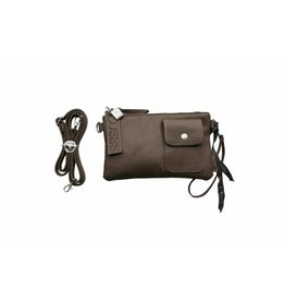 Zusss Basic tas Small, taupe