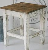 Oud Krukje 40x41x49cm, wit