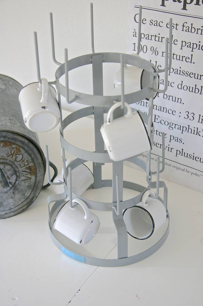 Glazen standaard 25x50, grijs