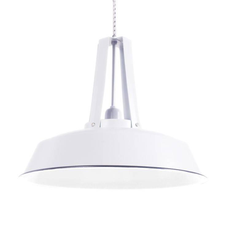 Label51 Industriële worker lamp L wit