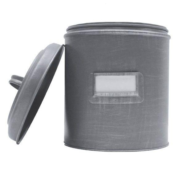 Label51 opbergblik grijs label123 - Kleur grijs zink ...