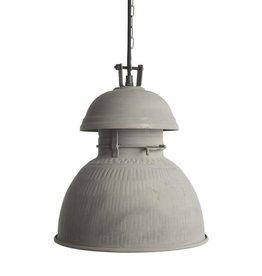 HK Living Industriële warehouse lamp M zink