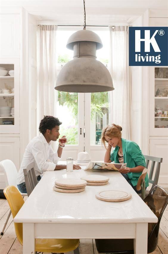 hk living industri le warehouse lamp xl zink label123. Black Bedroom Furniture Sets. Home Design Ideas