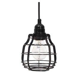 HK Living Lab lamp pendel hanglamp zwart