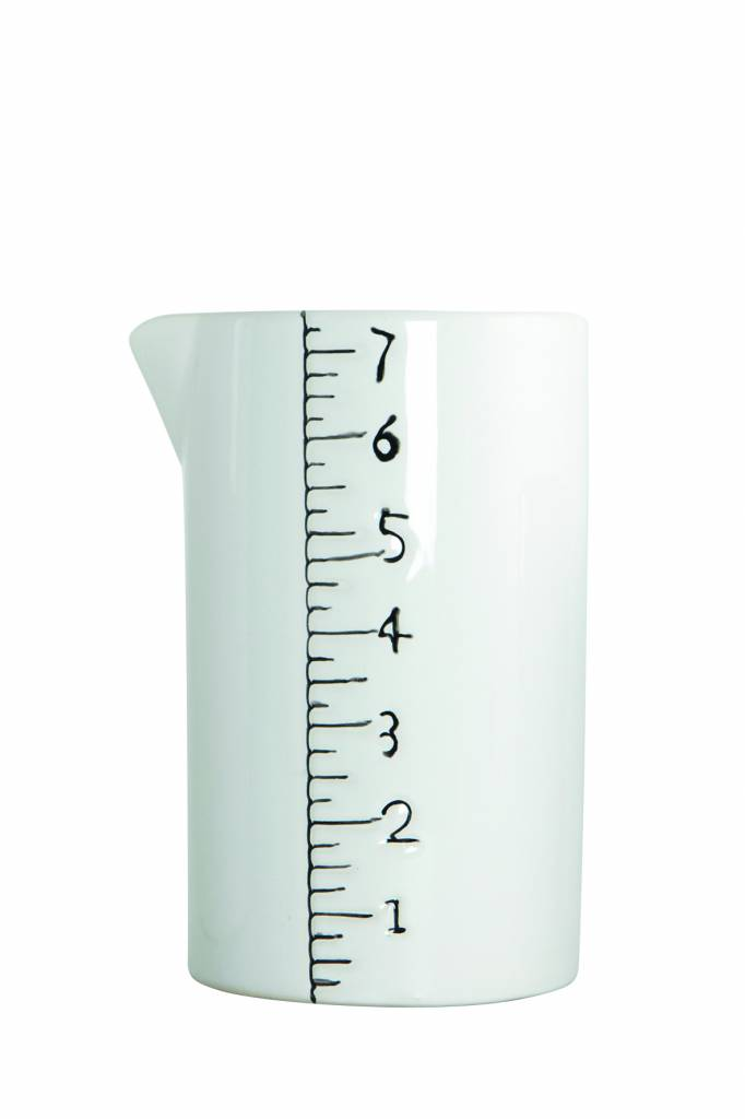 House Doctor Maatbeker keramiek middel, 8x14cm