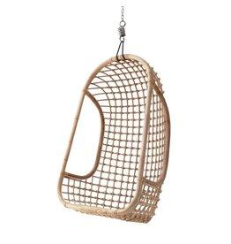 HK Living hangstoel rotan natural