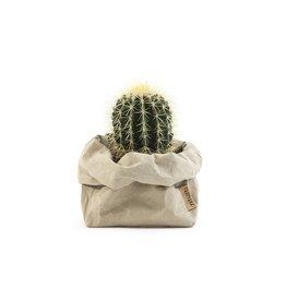 Uashmama Paper Bag Medium Sabbia